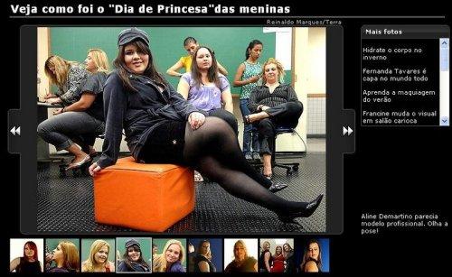 Dia de Modelo do Blog Mulherão 4 - Renata Poskus Vaz