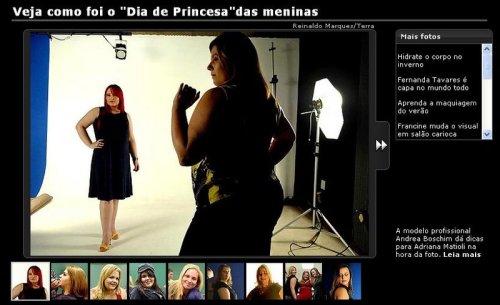 Dia de Modelo do Blog Mulherão - Renata Poskus Vaz