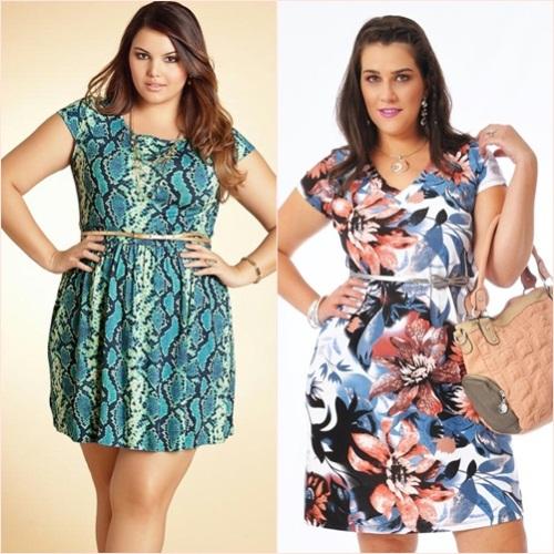 vestidos estampados plus size 1