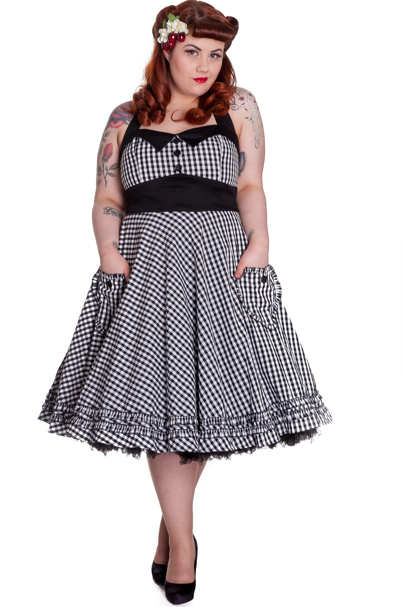 ... .com/2013/04/4037-gingham-50s-dress-blk-wht-plus-size-14071.jpg