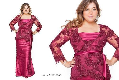 Vestidos de festa plus size da Suely Caliman