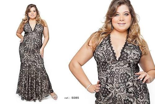 vestido de festa plus size 6