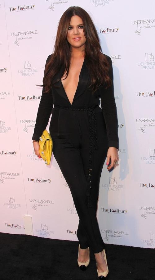 "Khloe Kardashian Odom And Lamar Odom's ""Unbreakable"" Fragrance Launch"