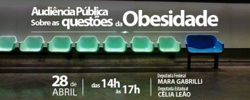 audiencia publica obesidade