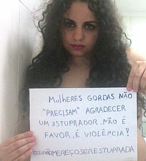 eu não mereço ser estuprada 2